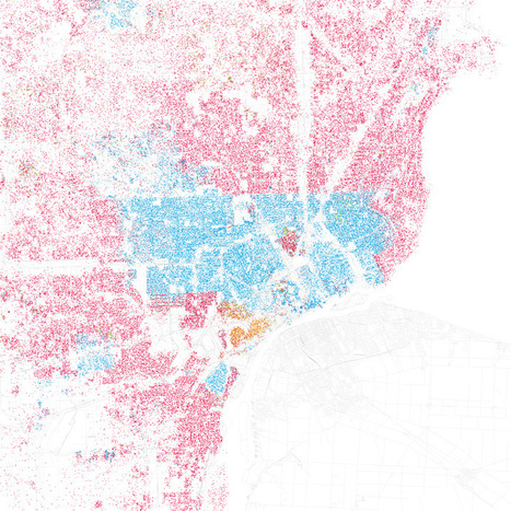 Infographics of the Day: How Segregated Is Your City? | Co.Design | The Architecture of the City | Scoop.it