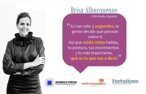 Women's Forum - Interview de Brisa Albuquerque,CNN: la importancia de decidir cuando eres joven | Worldwide Women leaders | Scoop.it