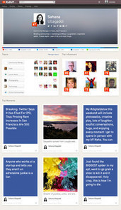 Klout redesigns its profiles | Social Media for Etsy Sellers | Scoop.it