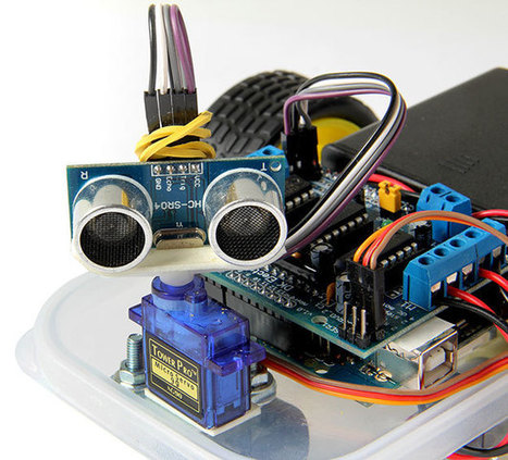 Arduino Masterclass Part 4: Build a mini robot | Arduino in the Classroom | Scoop.it