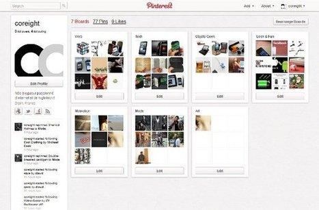 Pinterest, pourquoi faire ? Quelques astuces et des invitations ! | Agence Profileo : 100% e-commerce Prestashop | Scoop.it
