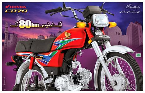 Honda CD 70 2014 Price in Pakistan | BoleGaPakistan | Scoop.it