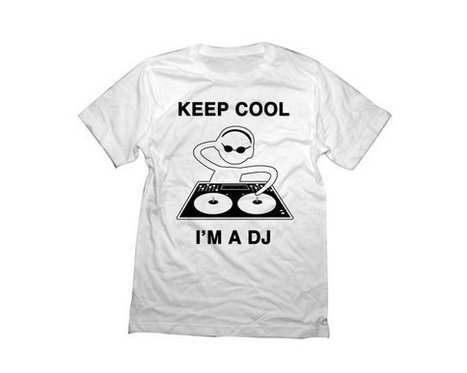 DJ Shirt   Keep Cool I'm a DJ Tshirt   T-Shirt   Scoop.it