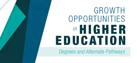 GROWTH OPPORTUNITIES IN HIGHER EDUCATION: DEGREES AND ALTERNATE PATHWAYS  | Affordable Learning | Scoop.it