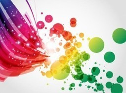 Abstract Colorful Background Vector Art | FreeWallpaperz | Scoop.it