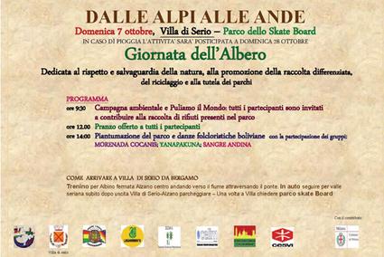 7 Ottobre 2012. Giornata dell'Albero a Villa di Serio | Sostenibilità ambientale | Scoop.it