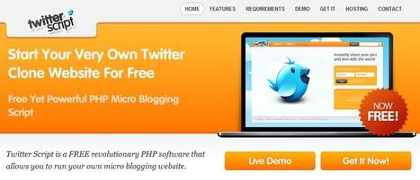 Free Twitter Script - Free Twitter Clone - Free PHP Micro Blogging Social Networking Script | Time to Learn | Scoop.it
