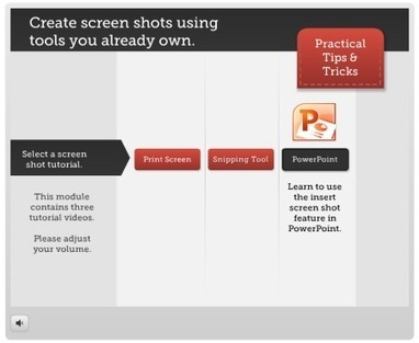 Need Screenshots for Your E-Learning? Here Are 3 Tools That You Already Own. » The Rapid eLearning Blog | Teknologi i undervisningen | Scoop.it