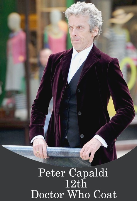 12th Doctor Who Maroon Coat | Black Friday & Cyber Monday Deals | Scoop.it