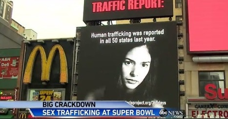 Child trafficking victims saved surrounding Super Bowl | Counter Child Trafficking News | Scoop.it