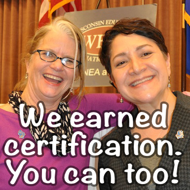 Join us October 12 for a WEAC National Board Certification webinar | Education Today and Tomorrow | Scoop.it