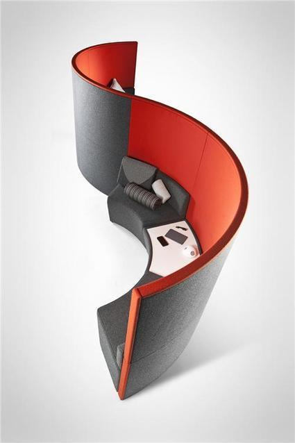 LINC - Acoustic pods - the easy way - Lismark - Office Furniture Leicester | Funky Fabulous Furniture | Scoop.it