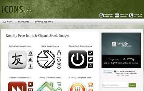 ICONS etc, miles de iconos gratuitos para tus proyectos online o página web | Compartiendo, conectando, difundiendo y contribuyendo | Scoop.it