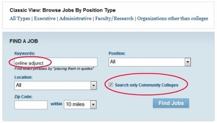 7 Best Search Sites: How to Find Online Teaching Jobs | E-Learning and Online Teaching | Scoop.it