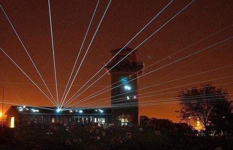 Falls Park laser show fades to black, 'had run its course' - Sioux Falls Argus Leader | Laser light show from BOMGOO | Scoop.it