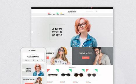 Glassonic Online Eye Glasses Store Responsive Magneto Theme   platinastudio   Scoop.it