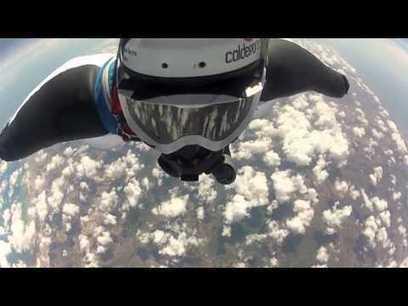Highest ever wingsuit jump - from 37,265ft! | DirectPayBiz | Scoop.it