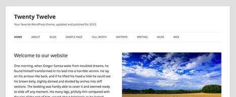 WordPress 3.5 est officiellement dans les bacs | BlogNT : Le Blog des Nouvelles Technologies dédié au Web, aux nouvelles technologies et au développement Web | Les News Du Web Marketing | Scoop.it