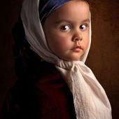 Il photographie sa fille comme des peintures du XVIIe!   Jaclen 's photographie   Scoop.it