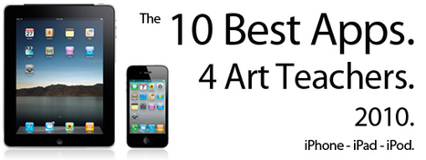 The 10 Best iPhone and iPad Apps for Art Teachers 2010 | The Teaching Palette | Library Tools for You! | Scoop.it