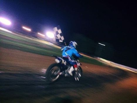 Won it all here in Macomb, IL tonight. Peoria TT tomorrow ! | California Flat Track Racing | Scoop.it