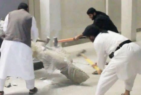 Irak: des statues de musée détruites par le groupe Etat islamique - L'Express   Grandes expositions   Scoop.it