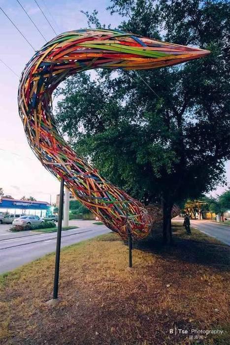 "Patrick Renner: : ""Funnel Tunnel"" | Art Installations, Sculpture, Contemporary Art | Scoop.it"