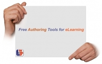 Free Authoring Tools for eLearning | e-Education | Scoop.it