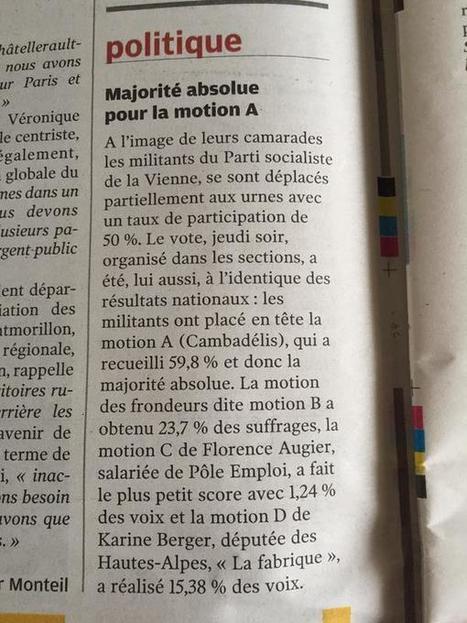 @S_Chatellerault et les #majorités à fonds mouvants #politique #PS | Chatellerault, secouez-moi, secouez-moi! | Scoop.it