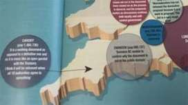 Apology for Cardiff in England map error in magazine - BBC News | Maps & miscellaneous | Scoop.it
