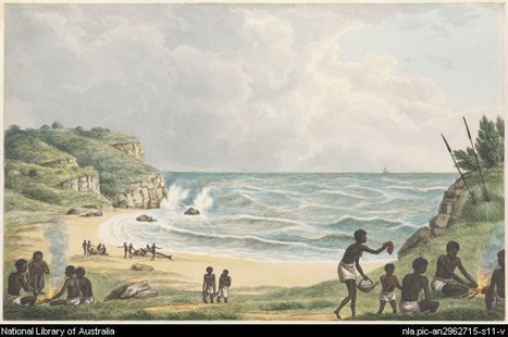 Digital Collections - Pictures - Lycett, Joseph, ca. 1775-1828. Drawings of Aborigines and scenery, New South Wales, ca. 1820 [picture] | HSIE Stage 1: The Aboriginal relationship to the land and ways of caring for the land | Scoop.it