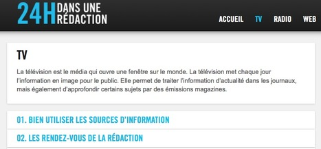 TV - 24h dans une rédaction | formation JRI - Journaliste reporter images | Scoop.it