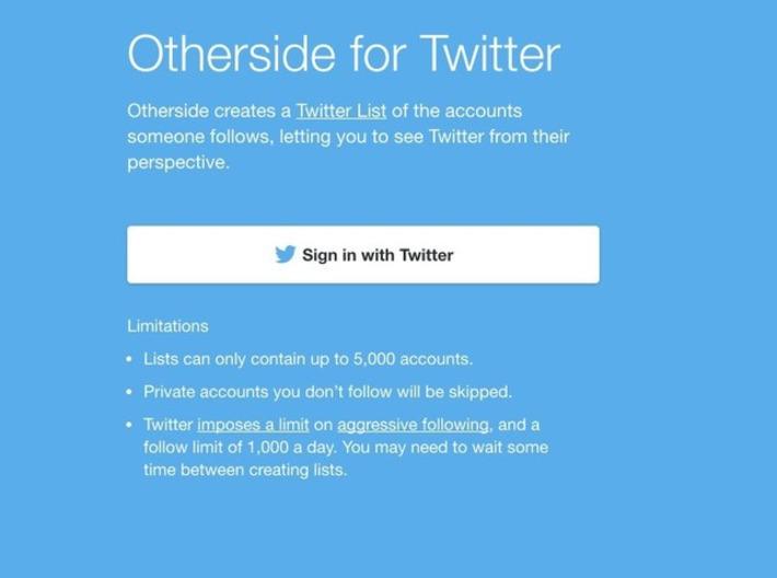 OtherSide. Changez de perspective sur Twitter – Les outils de la veille | TIC et TICE mais... en français | Scoop.it