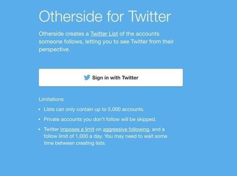OtherSide. Changez de perspective sur Twitter – Les outils de la veille | François MAGNAN  Formateur Consultant | Scoop.it