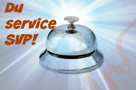 Le mot « service » implique-t-il nécessairement un humain? | Présence 2.0 | Scoop.it