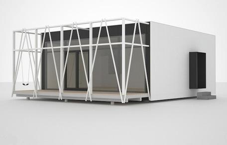 Modular Passiv-Haus Concept Offers Customizable, Net-ZeroHome | Ecological Construction | Scoop.it