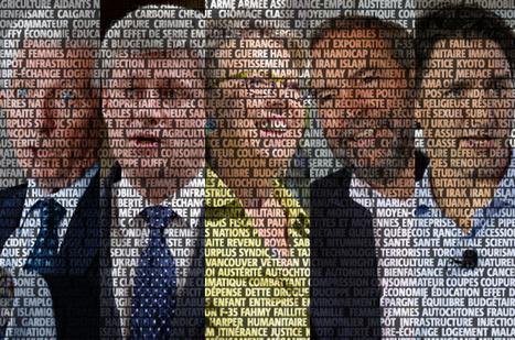 De quoi parlent (vraiment) les partis politiques | Archivance - Miscellanées | Scoop.it