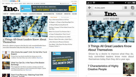 3 Tips to Improve Your Site For Mobile | Mobile SEO - All You Need to Know | Scoop.it