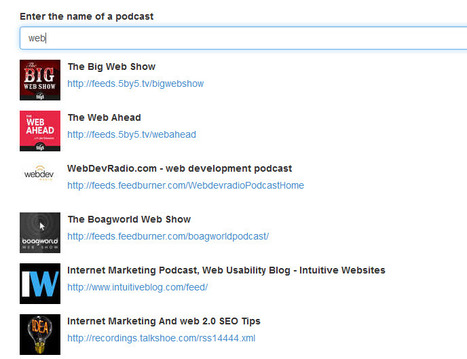 A search engine to get the RSS feed of an iTunes podcast   RSS Circus : veille stratégique, intelligence économique, curation, publication, Web 2.0   Scoop.it