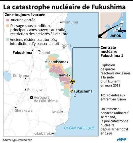 [INFOGRAPHIE] La catastrophe nucléaire de Fukushima #AFP [Fukushima 4 ans] | Japon : séisme, tsunami & conséquences | Scoop.it