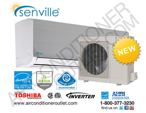 Senville Air Conditioner and Heat Pump | Air Conditioner Outlet LLC | Scoop.it