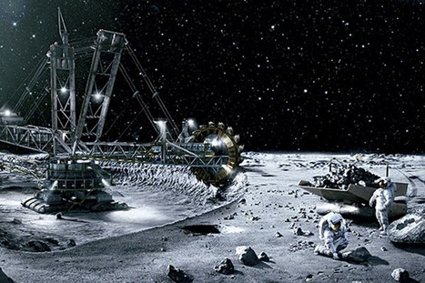 US Space Act means moon mining will take a giant leap in 2016 (Wired UK) | Space matters | Scoop.it