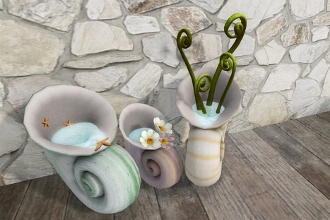 My World In A Shell Decor Item   Second Life   Second Life Freebies   Scoop.it