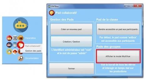 ENTBox MultiVue : Interaction en temps réel avec les productions élèves   Vie numérique  à l'école - Académie Orléans-Tours   Scoop.it