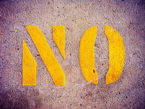 "Innovators: ""No!"" Is Only the Beginning 