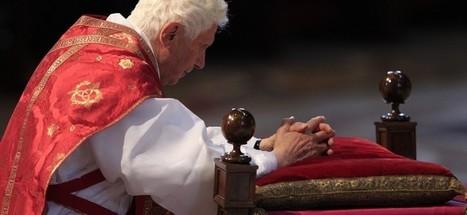 Najväčšia lekcia Benedikta XVI.? Teológia na kolenách   Správy Výveska   Scoop.it
