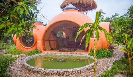 [Insolite] Il construit lui-même sa maison bulle... pour moins de 9 000 dollars (Thaïlande)   Travaux maison, rénovation, extension...   Scoop.it