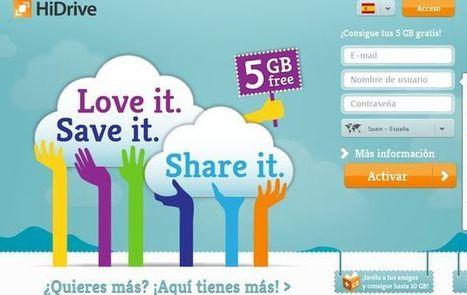 HiDrive, 5 Gb gratuitos para guardar tus archivos en la nube | ELE  y Herramientas WEB | Scoop.it