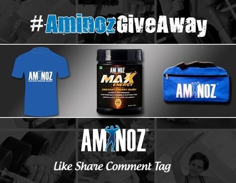 AminozGiveAway Contest | Aminoz Health and Sports Supplements | Scoop.it