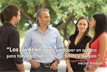 Los que gobiernan hoy están marcando el rumbo del país que van a recibir ustedes...   Hector Baldassi Candidato a Diputado Nacional   Scoop.it
